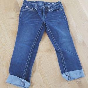 Miss Me Jeans- Size 28- easy capri